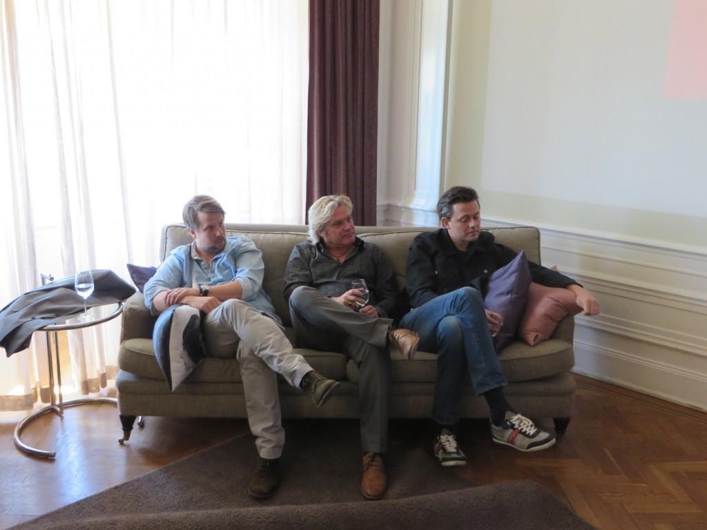 Filip, Patrik och Fredrik