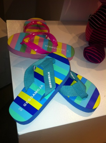 Flip Flops för varma dagar på stranden