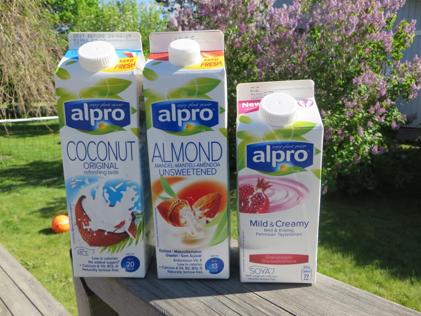 alpro kokosmjölk recept