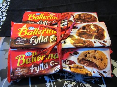Ballerina Fylld Cookie