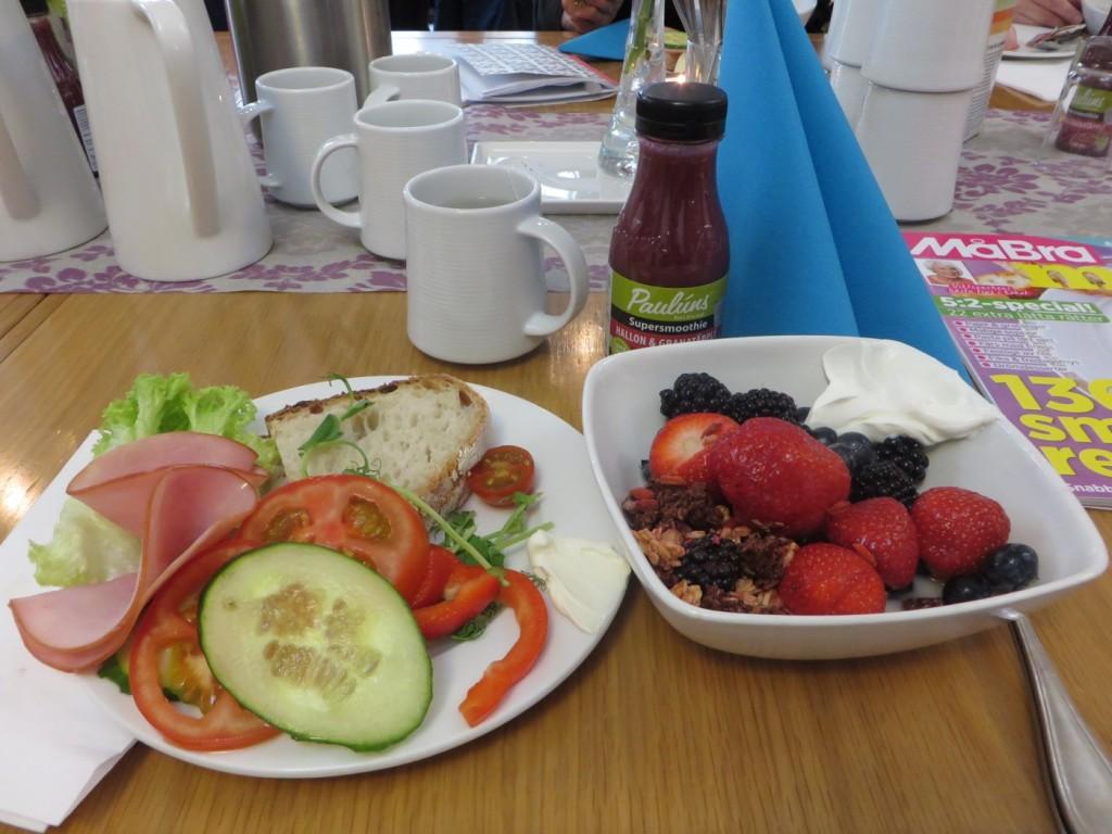 Vilken underbar frukost!