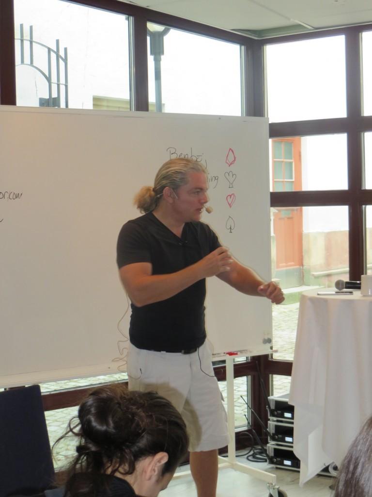 Kostexperten Fredrik Paulún med sin härliga inställning och attityd.