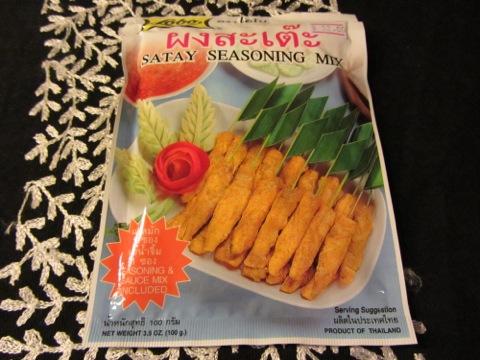 Färdig kryddmix för Chicken Satay