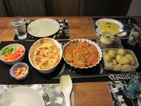 Fisk och potatis till middag