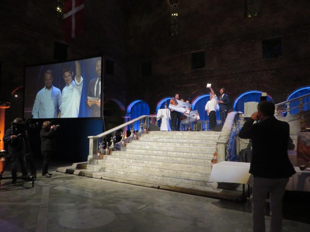 Vinnare i kocktävlingen Taneli Myllyvirta