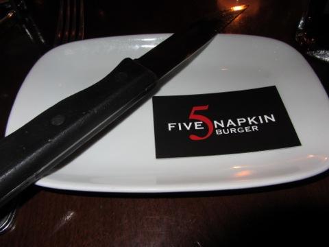 Välkommen till 5 Napkin Burger