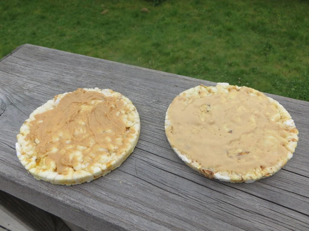 Smaken är ungefär den samma på de båda varianterna.