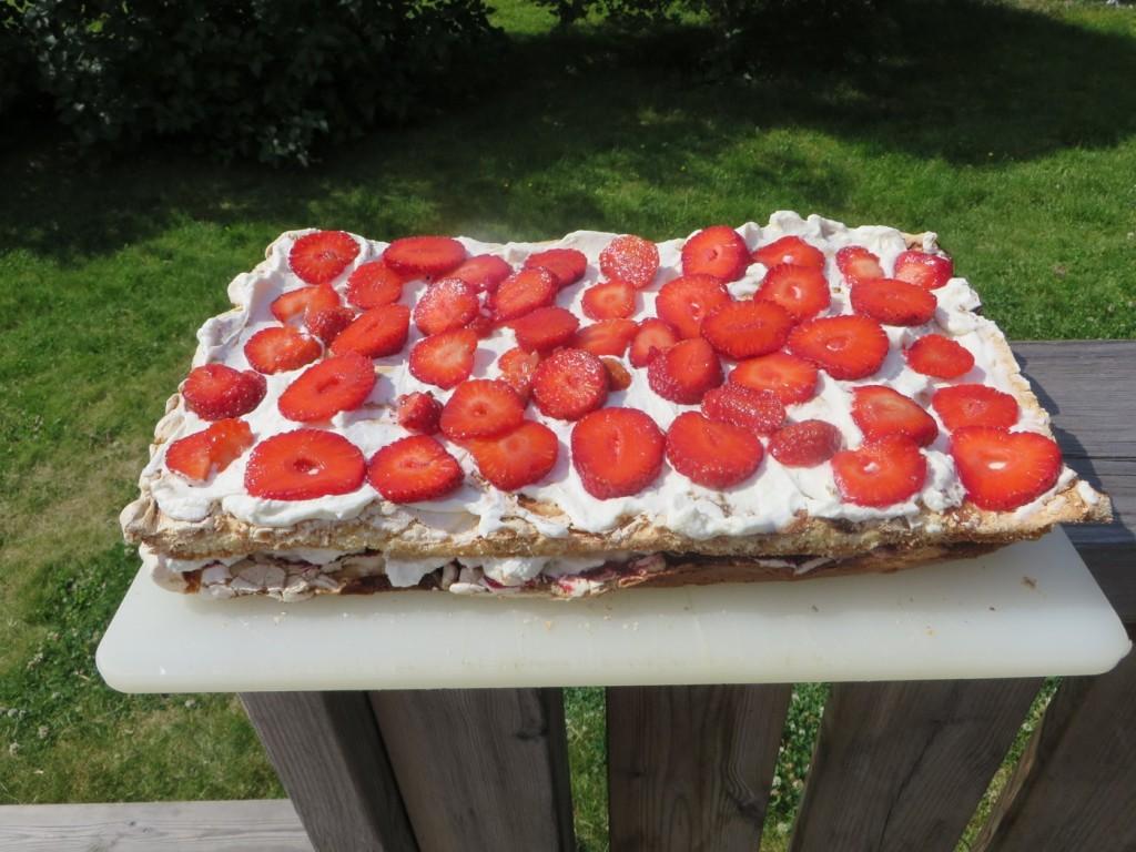 Galet god pinocchio-tårta.