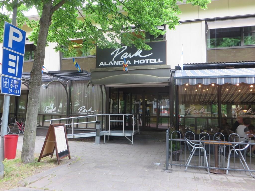 Park Alandia Hotell.