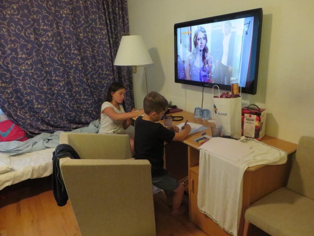 TV med barnens favoritkanaler.