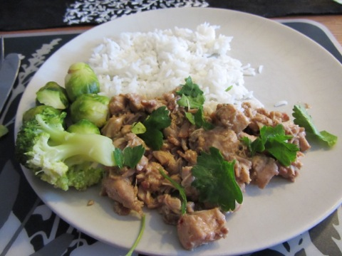 Kyckling med ris och grönsaker