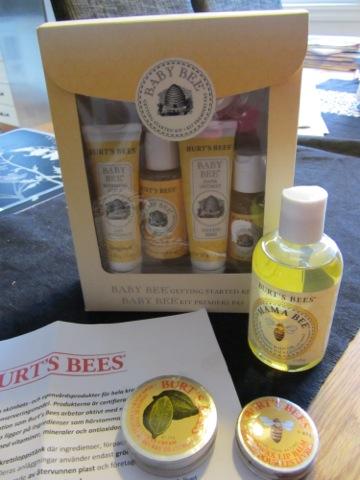 Produkter från Burt's Bees