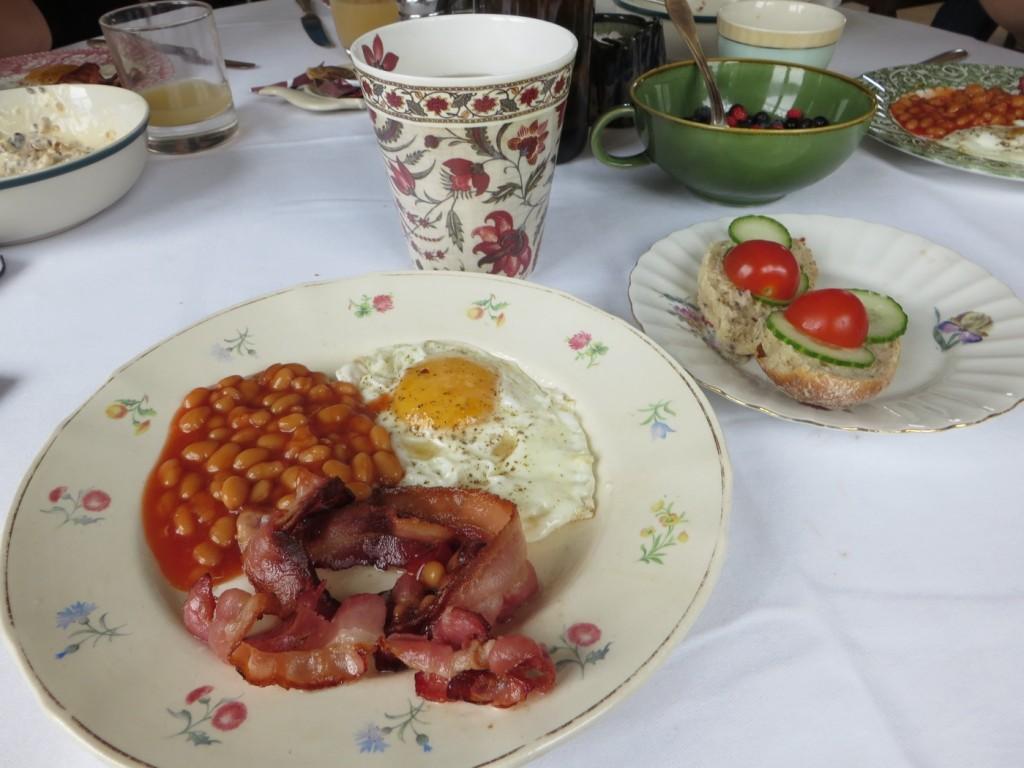 Lyxigt värre med english breakfast!