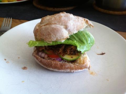Chopped burger