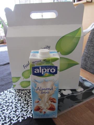 Nyhet från Alpro - Mandelmjölk