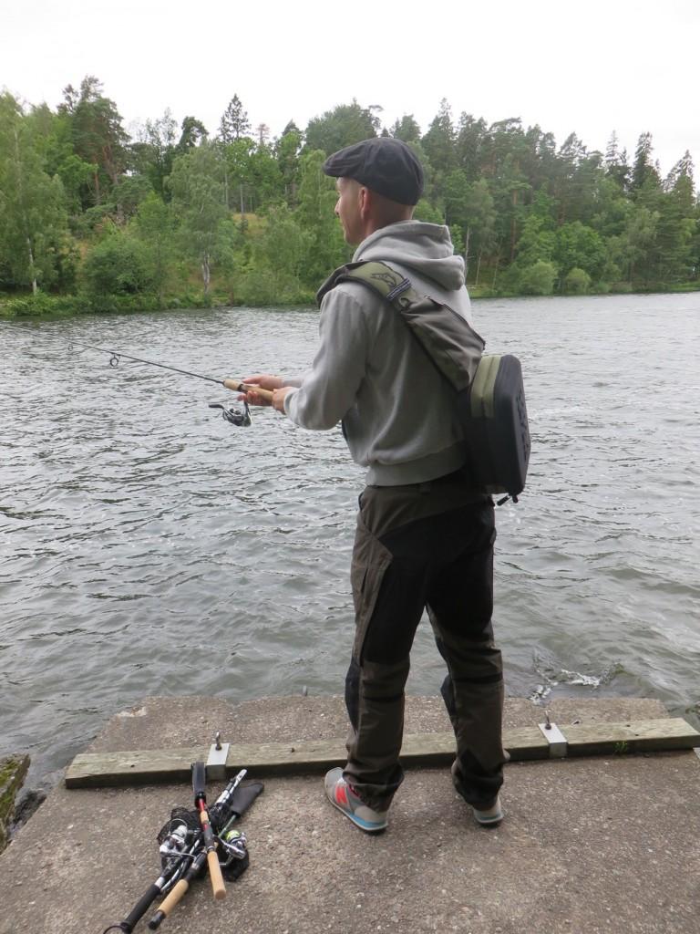 Fiske i Mälaren.