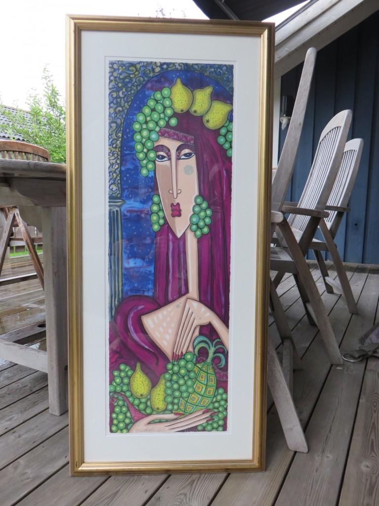 En snygg tavla av Angelica Wiik.