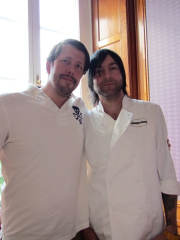 Daniel och Fredrik från Glassakademin