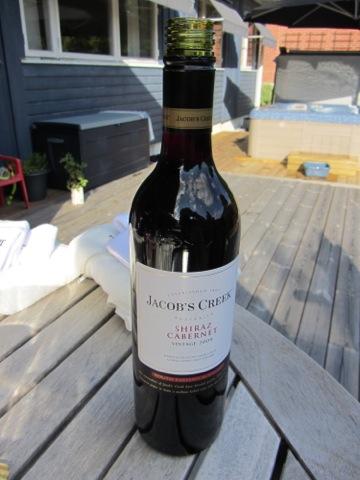 Rött vin från Jacob's Creek