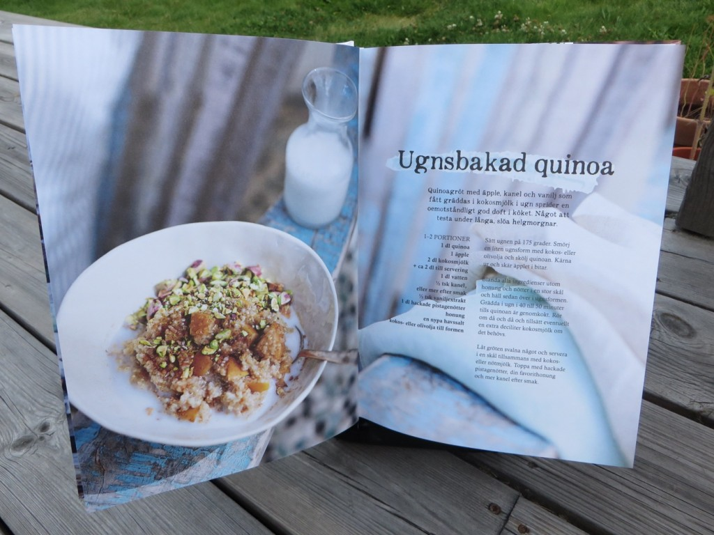 Ugnsbakad quinoa.