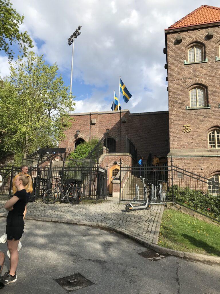 Den fysiska banan utgår från Stockholm Stadion och är en 5 km naturskön sträcka.