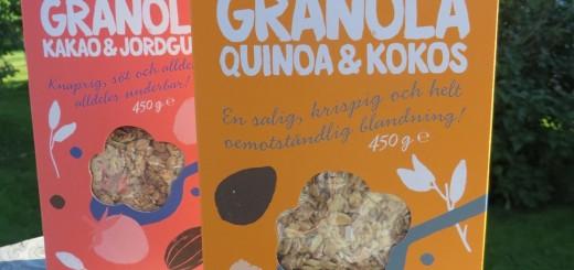 Ekologisk nyckelhålsmärkt Granola från Garant.