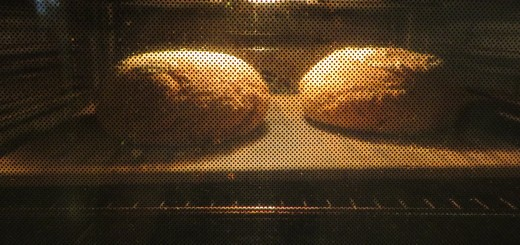 Brödbakning i en vanlig ugn.