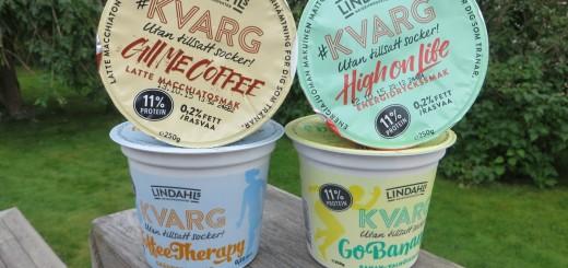 Nya smaker på Kvarg från Lindahls.