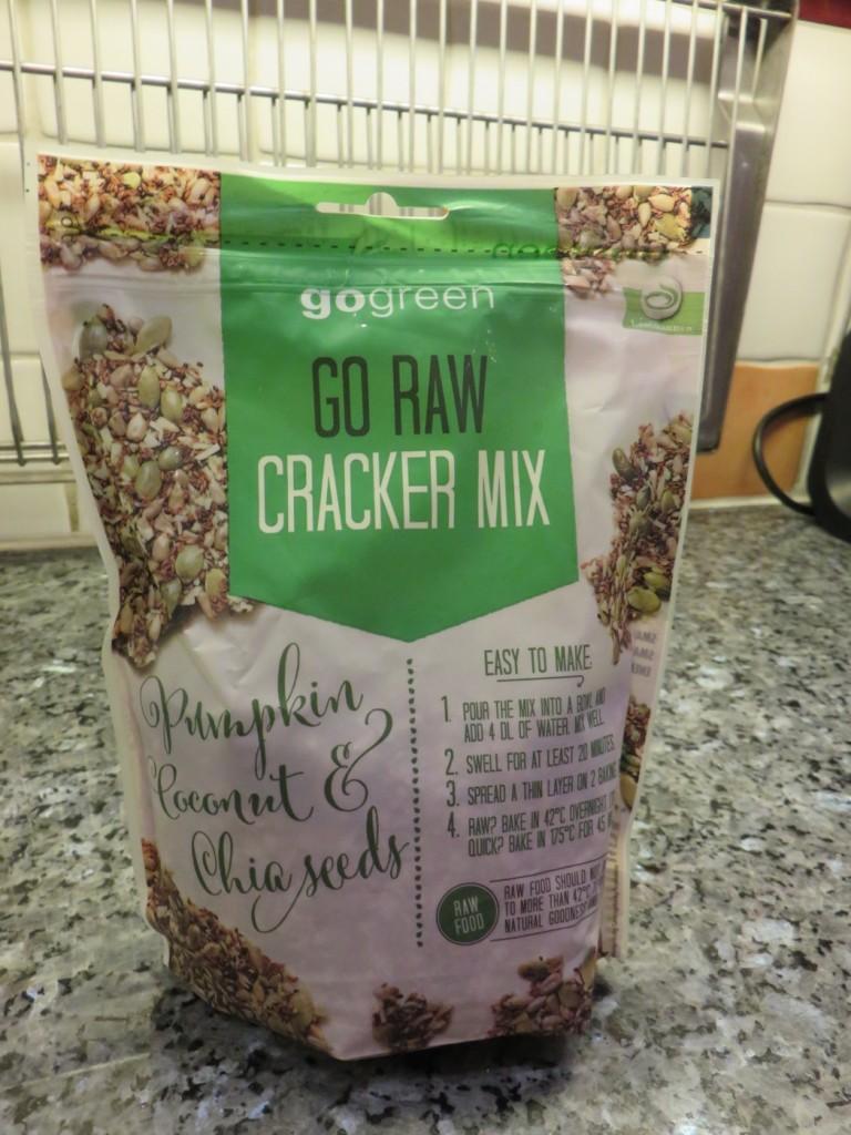 Go Raw Cracker Mix från Go Green
