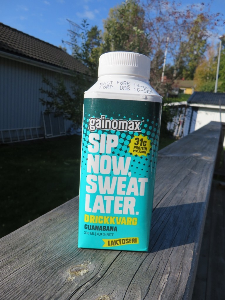 Sip Now, Sweat Later - drickkvarg från Gainomax.