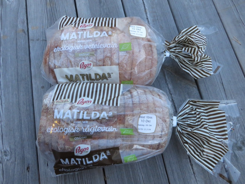 Matildas ekologiska vetelevain och Matildas ekologiska råglevain.