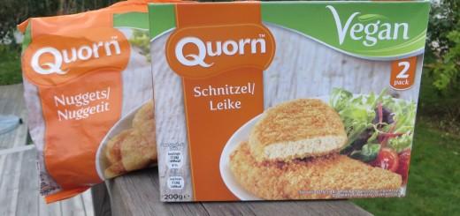 Quorn lanserar sina första veganska produkter.