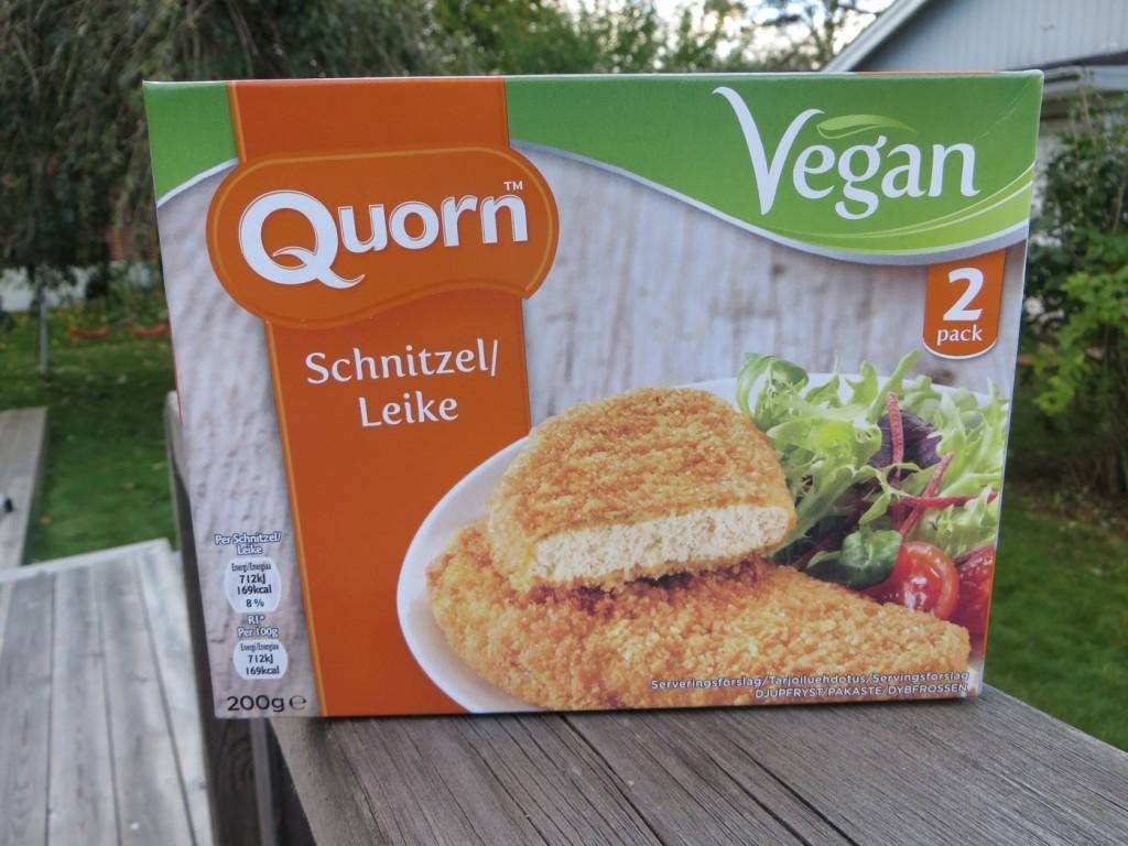 Quorn Schnitzel.