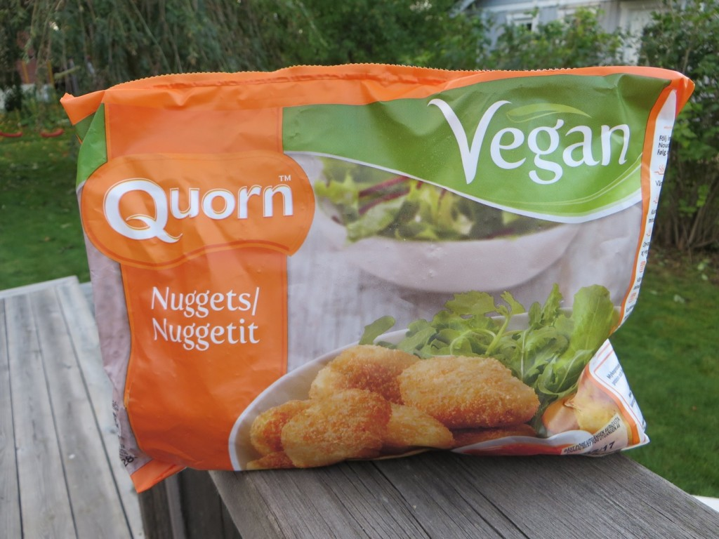 Quorn Nuggets.