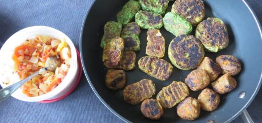 Vegetarisk lördagslunch med Hej Vego-sortimentet från Garant