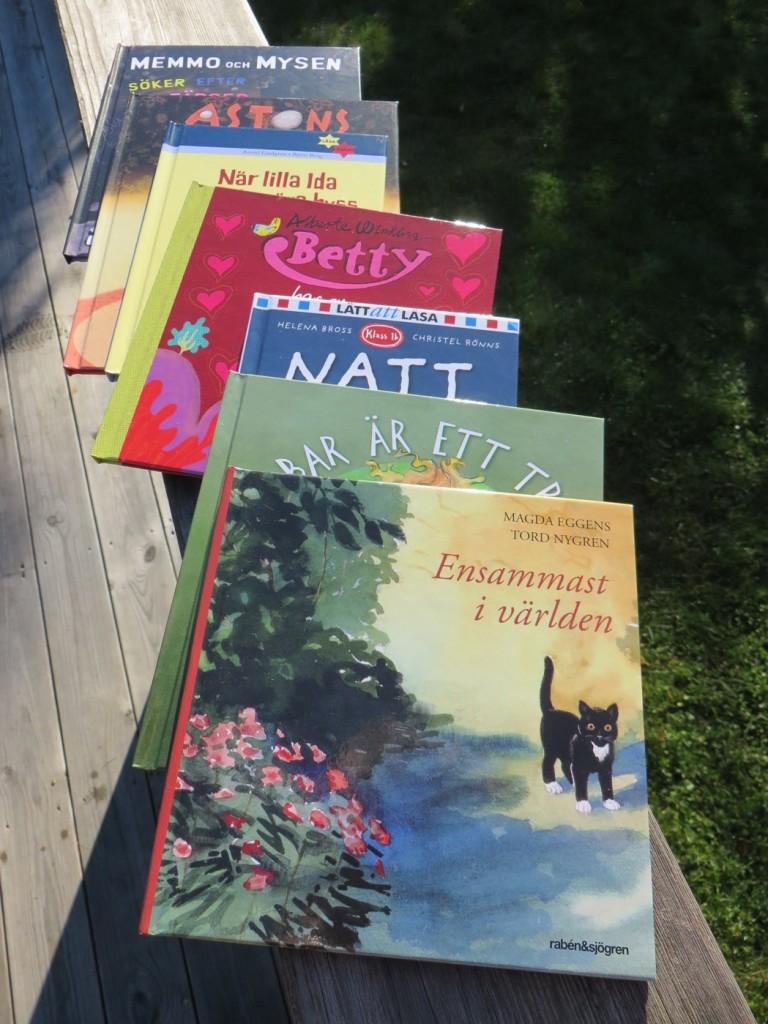 En hel rad spännande böcker att läsa själv eller som högläsning.