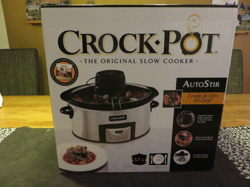 Crock-Pot 5,7L Autostir