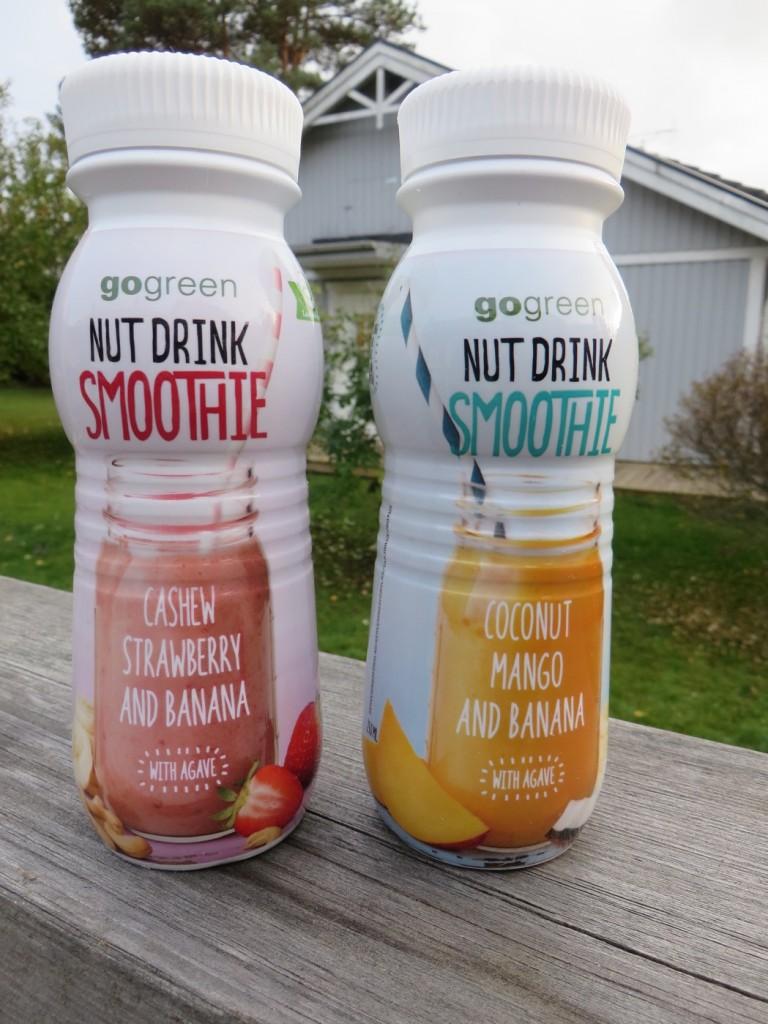 Nutdrink Smoothie finns nu i butik och kostar ca 20 kr