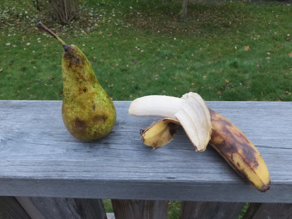 Knasiga men goda frukter!