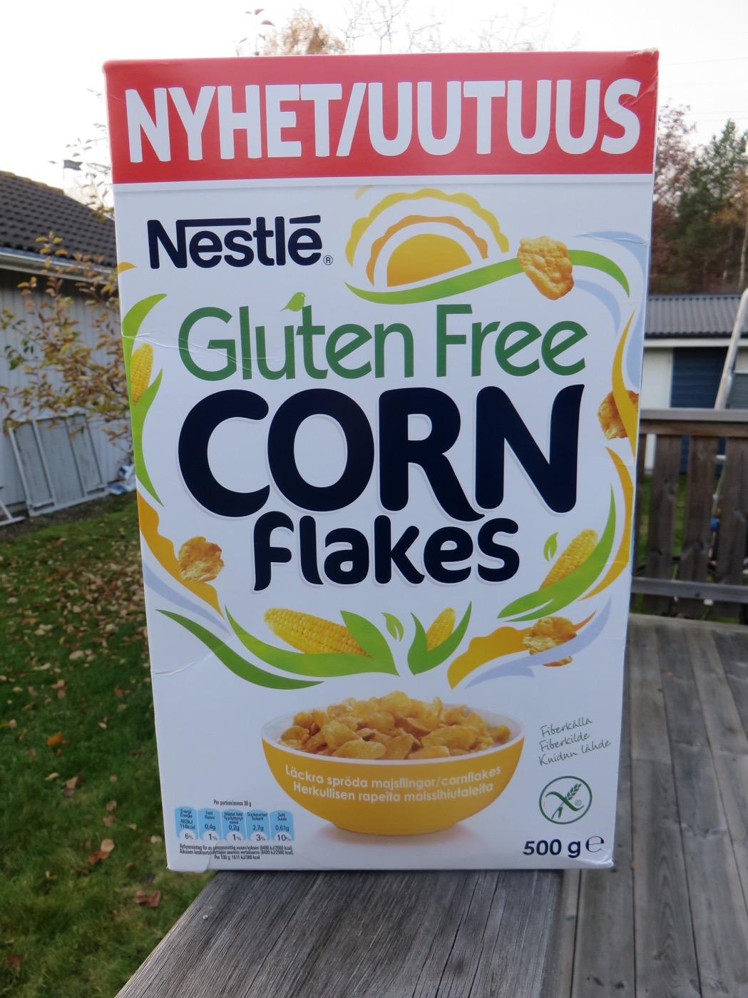 innehåller cornflakes gluten