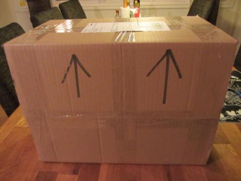 Stort paket har anlänt!