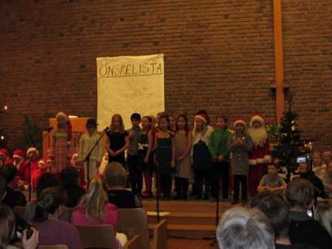 2ornas julspel i kyrkan