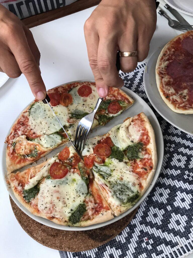 Fryspizza!