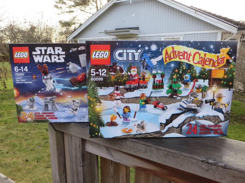 Adventskalendrar från Lego