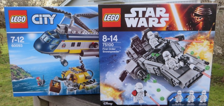 Två av årets julnyheter från Lego