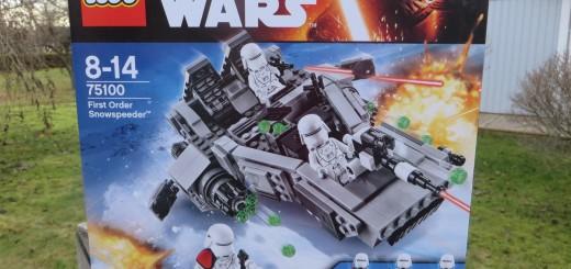 Lego Star Wars, First Order Snowspeeder (75100)