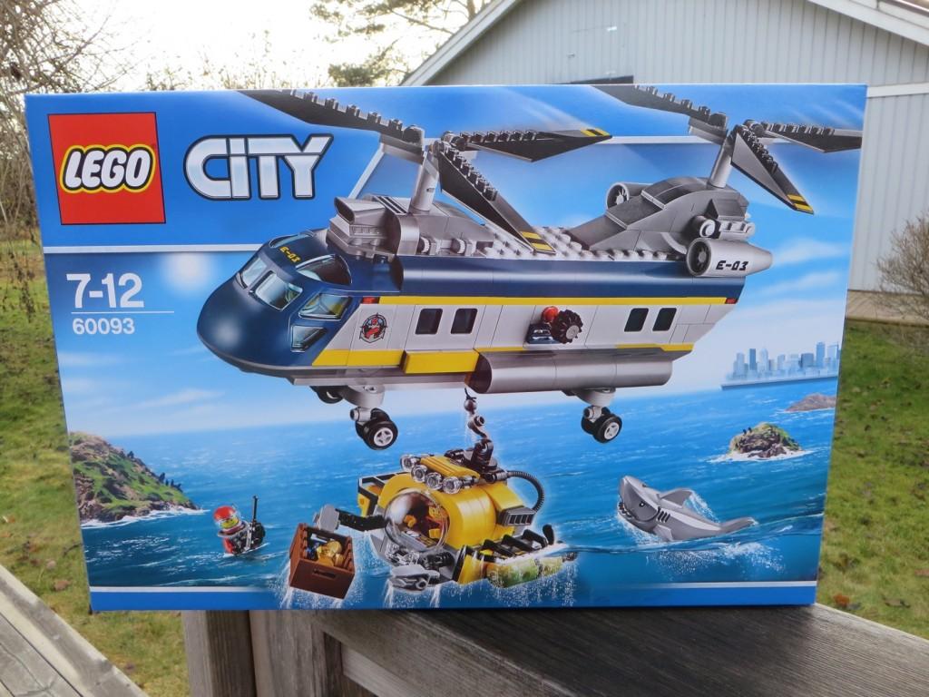 Lego City, Djuphavshelikopter (60093)