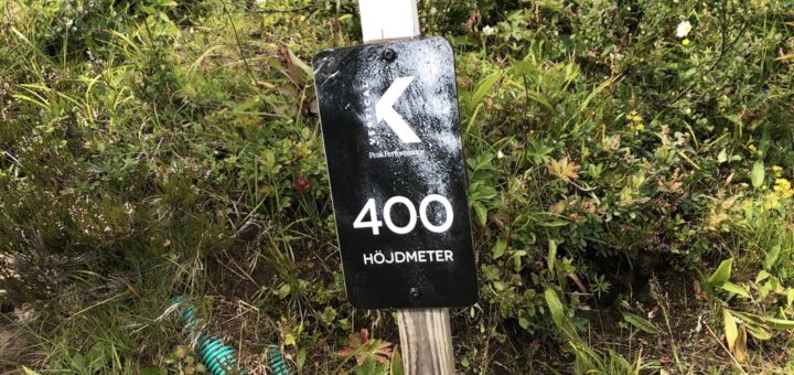 400 m avklarat!