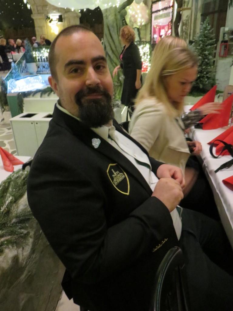 Tyrols köksmästare Samuel Cabrera. Upplev Tyrols Vilda julbord