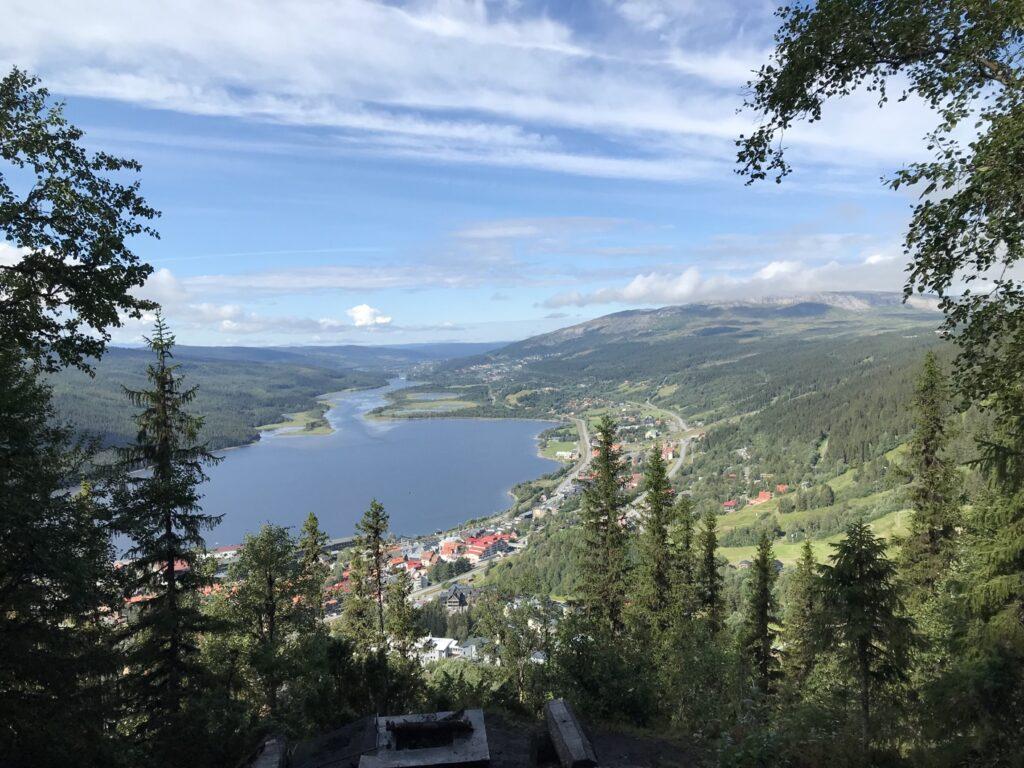 Vandring Totthummeln runt i Åre